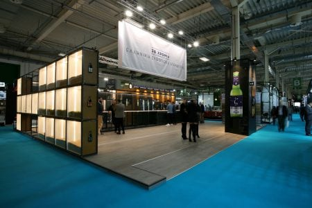 Exhibition stand for the EZA brewery – HO.RE.CA 2019