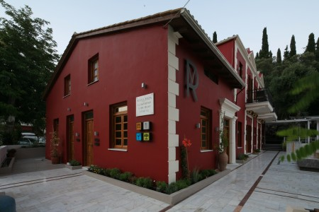Renovated historical building Villa Rossa in Parga