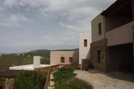 Complex of residences on the island of Andros