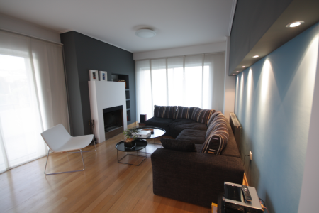 Renovation and joining of two floors of an apartment  in Marousi