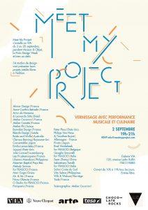Συμμετοχή  στην έκθεση ' VIA Meet my Project', στο Παρίσι