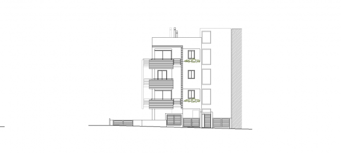 Residential building in Melissia