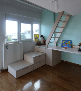 Renovation of two bedrooms
