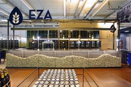 Εκθεσιακό περίπτερο της Ελληνικής Ζυθοποιίας Αταλάντης EZA  – HO.RE.CA 2017